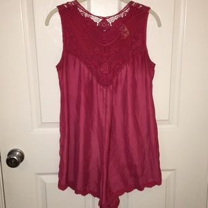 Free People Other - Free People Pink Romper